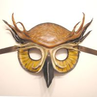 Owl Leather Mask by teonova