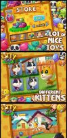 kitty toy by thezork