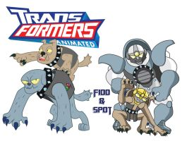 Transformares Fido and Spot by Inspectornills