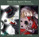 2010-2015 Draw This Again Meme by yowamushi-chan