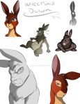 watership down doodles by Jack-Stripes