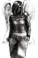Goth Angel 2 by Eyesopen24