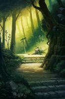Forest Path by NatSmall