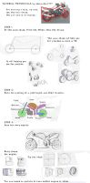 Tutorial Motorcycle by dessinateur777