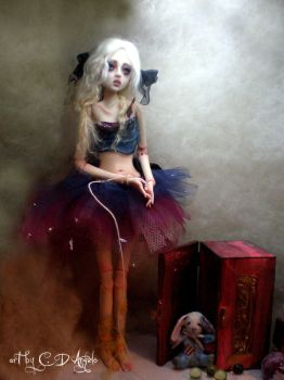Forgotten Doll Ball Jointed B by cdlitestudio
