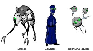 Character Project-Henchpersons by Mr-Haitch