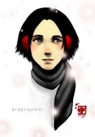 Pepper Snow by ladyfish