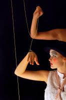 On puppet strings by pinkitink