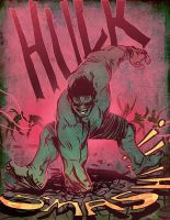 Hulk SMASH by bearmantooth