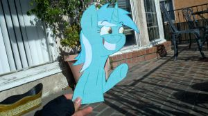 Lyra cardboard cutout by RE-ACTION1982
