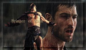 Bringer of Rain - Andy Whitfield by ARTbyKLIPP