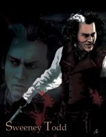 Sweeney Todd full color by WickedGrl666