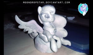 Princess Luna- WIP by MoondropStar