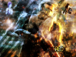 Halo Wallpaper by 4ever92hours