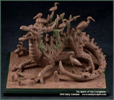 The Spirit of the Everglades by emilySculpts