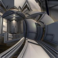 Non-linear elevator by Vidom