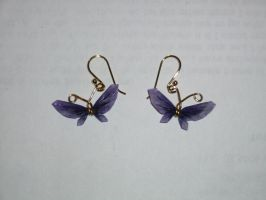 Butterfly Earrings by LoDuris