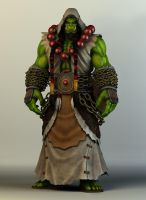 Thrall, Son of Durotan by faridiansyah