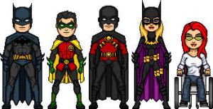 New Batfamily by BAILEY2088