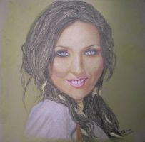 Alsou in pastels by ellekazan