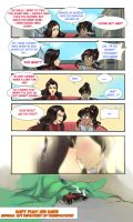 Spoiler alert : LOK : You are not mad? by bakki