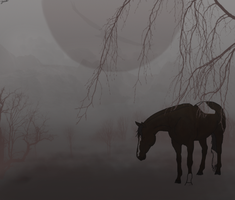 Full Moon.gift for sabriel by shiasgraphics