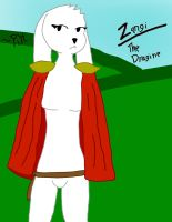 Zangi The Dragine =Digital and Colored= by PikminHensley