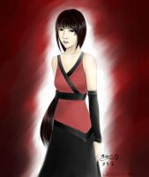 person wearing red by endlesssorrow