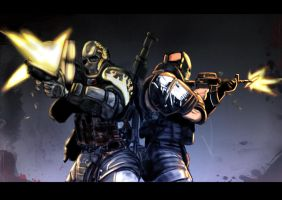 army of two salem n rios by PMCKai86