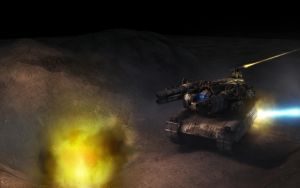 Heavy Armor Float under Fire by eRe4s3r
