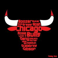 Chicago Bulls Logo by timmytheazn