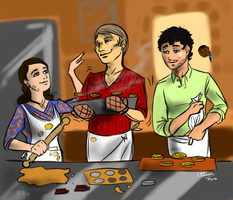 Hannibal - Baking cookies by FuriarossaAndMimma