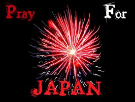 Pray For Japan by LaceLilyMay