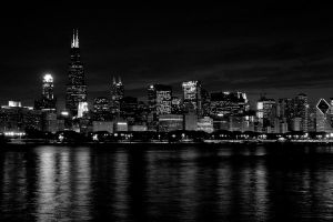 Chicago BW by gerald-the-mouse3