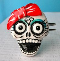 Day of the Dead Jewelry by ArteDeMiFamilia