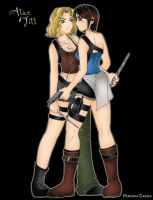 Alice and Jill by MariRainha