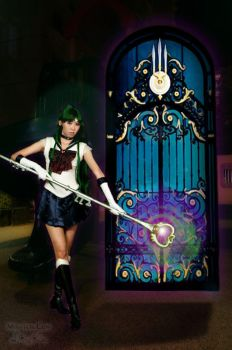 Sailor Pluto Space Time Door by miwitch
