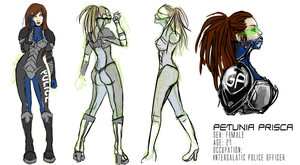 Petunia Character sheet by Rossilyn