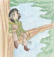 Childhood-Kivan by Sammi-The-FF-Freak