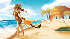 [C] Beach Day by Oh-ka