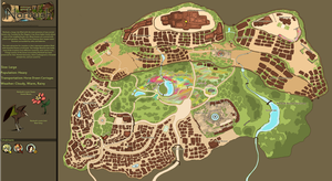Norbush Map by TheDragonishCafe
