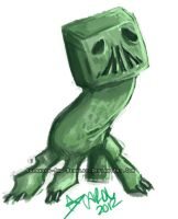 Creeper Doodle by Cinderbrand