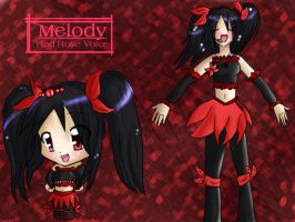 Melody Idol for melody-musique by Shellahx