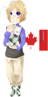 canada - hetalia. by a-city