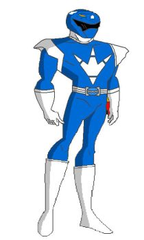 Blue Dino Thunder Triceratops Ranger by stewie166