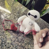 Amigurumi - Baymax (Big Hero 6) by TeaTlme