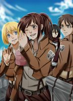 Shingeki no Kyojin by Shandisworld