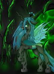 Queen Chrysalis by BloodyPink-M