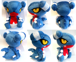 Gabite Plush by ponymonster