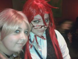 Grell-kun and Me by Suguru-kun